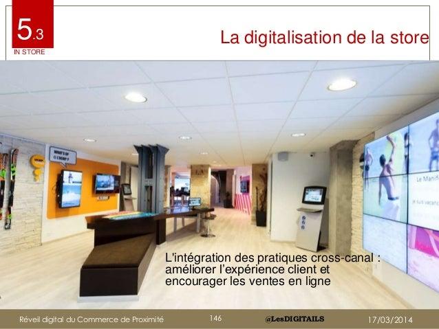 """@LesDIGITAILS@LesDIGITAILS La digitalisation de la store L'intégration des pratiques cross-canal : améliorer l""""expérience ..."""