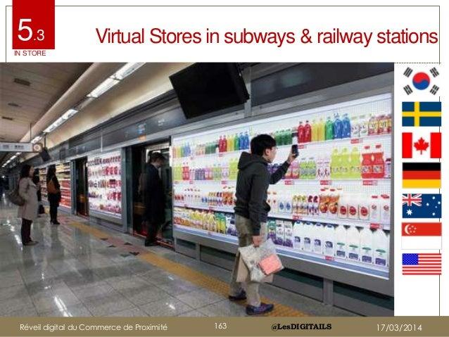 @LesDIGITAILS@LesDIGITAILS Virtual Stores in subways & railway stations5.3 IN STORE Réveil digital du Commerce de Proximit...