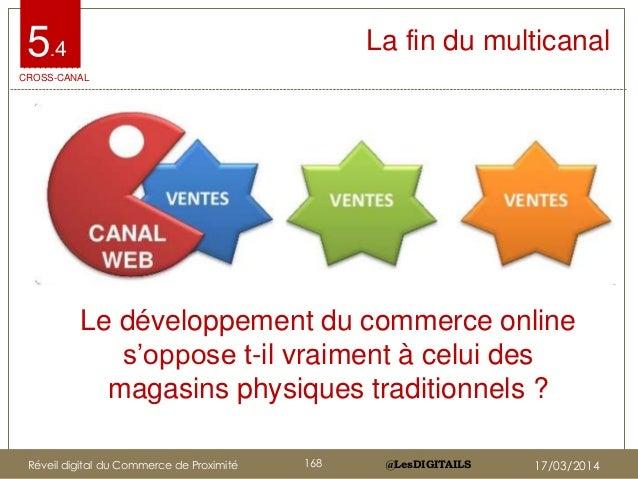 """@LesDIGITAILS@LesDIGITAILS La fin du multicanal5.4 Le développement du commerce online s""""oppose t-il vraiment à celui des ..."""