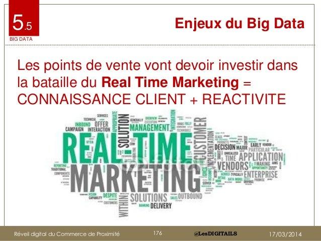 @LesDIGITAILS@LesDIGITAILS Enjeux du Big Data Les points de vente vont devoir investir dans la bataille du Real Time Marke...