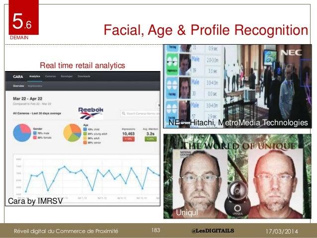 @LesDIGITAILS@LesDIGITAILS Facial, Age & Profile Recognition5.6 Uniqul Cara by IMRSV NEC, Hitachi, MetroMedia Technologies...