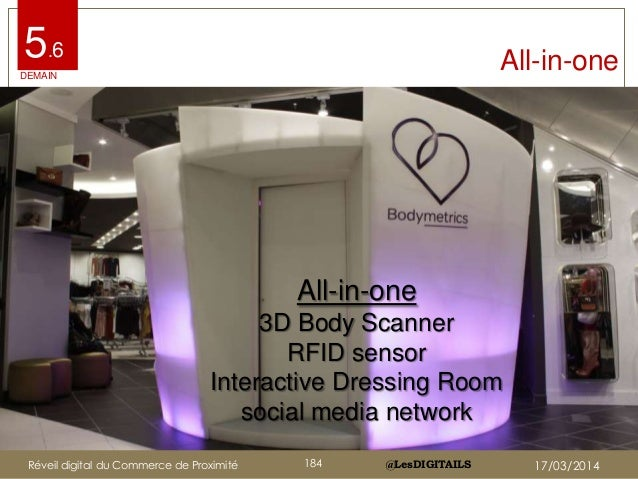@LesDIGITAILS@LesDIGITAILS All-in-one5.6 All-in-one 3D Body Scanner RFID sensor Interactive Dressing Room social media net...