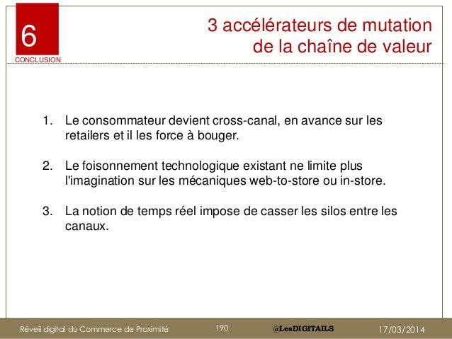@LesDIGITAILS@LesDIGITAILS 3 accélérateurs de mutation de la chaîne de valeur 1. Le consommateur devient cross-canal, en a...