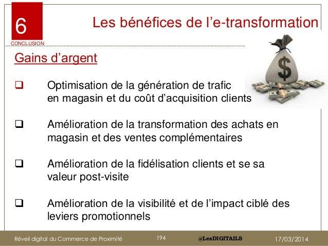 """@LesDIGITAILS@LesDIGITAILS Gains d""""argent  Optimisation de la génération de trafic en magasin et du coût d""""acquisition cl..."""