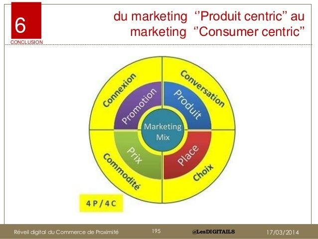 """@LesDIGITAILS@LesDIGITAILS du marketing """"""""Produit centric"""""""" au marketing """"""""Consumer centric""""""""6 CONCLUSION Réveil digital d..."""