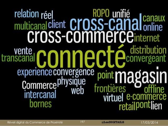 @LesDIGITAILSRéveil digital du Commerce de Proximité 197 17/03/2014