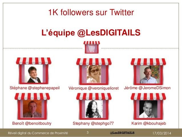 @LesDIGITAILS Véronique @veroniquelioret Jérôme @JeromeDSimonStéphane @stephanepapeil 1K followers sur Twitter L'équipe @L...
