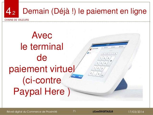 @LesDIGITAILS@LesDIGITAILS Demain (Déjà !) le paiement en ligne Avec le terminal de paiement virtuel (ci-contre Paypal Her...