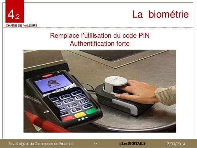 """@LesDIGITAILS@LesDIGITAILS La biométrie Remplace l""""utilisation du code PIN Authentification forte 4.2 CHAINE DE VALEURS Ré..."""