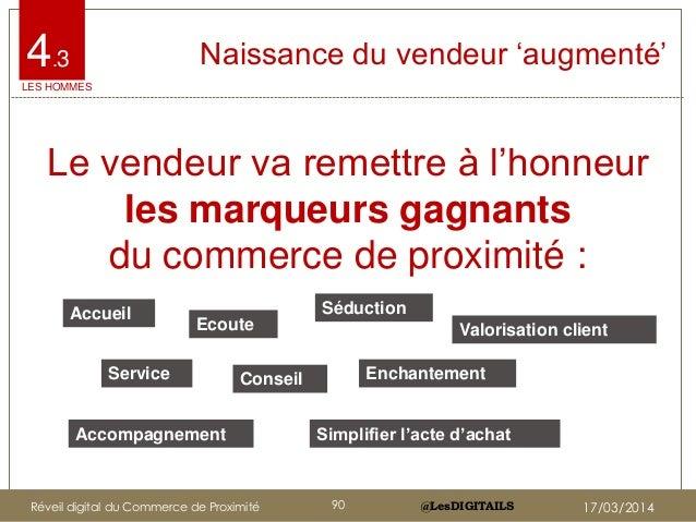 """@LesDIGITAILS@LesDIGITAILS 4.3 Naissance du vendeur """"augmenté"""" Le vendeur va remettre à l""""honneur les marqueurs gagnants d..."""