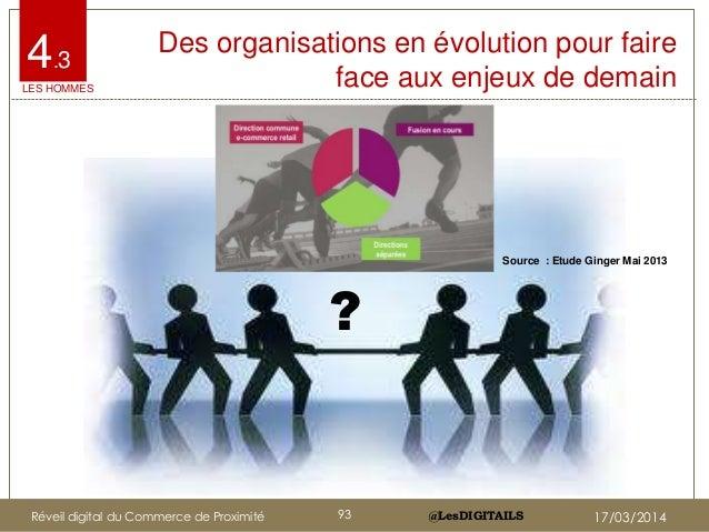 @LesDIGITAILS@LesDIGITAILS 4.3 Des organisations en évolution pour faire face aux enjeux de demain ? LES HOMMES Source : E...