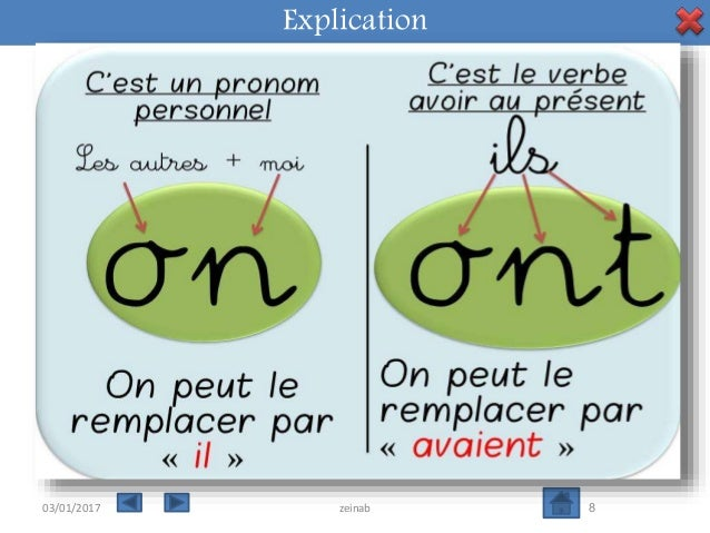 Les homophones grammaticaux