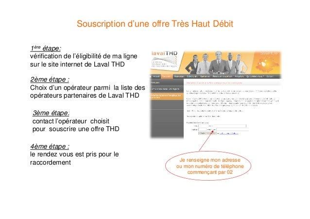 Les étapes d'un raccordements client FTTH en aérien Slide 2