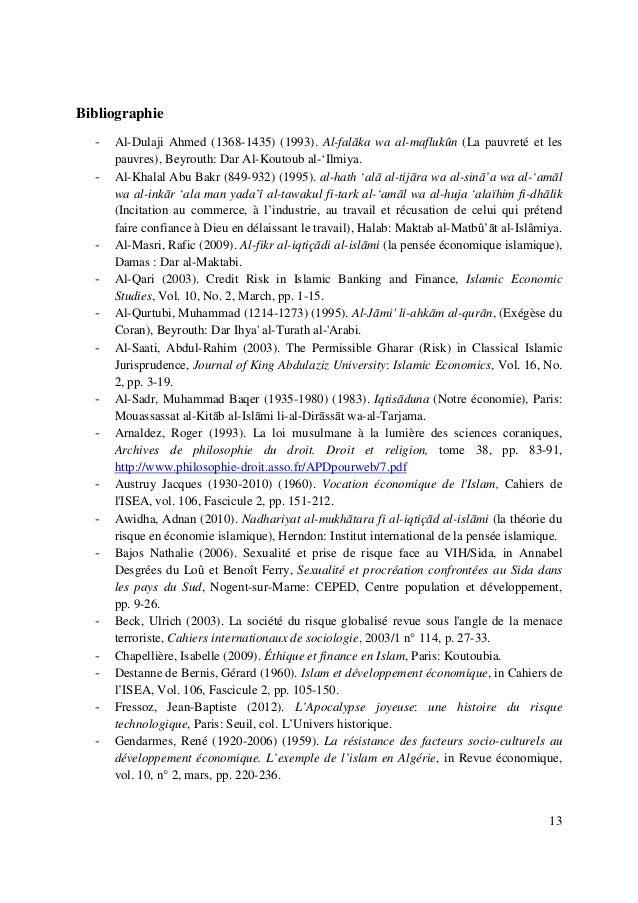 13 Bibliographie - Al-Dulaji Ahmed (1368-1435) (1993). Al-falāka wa al-maflukûn (La pauvreté et les pauvres), Beyrouth: Da...