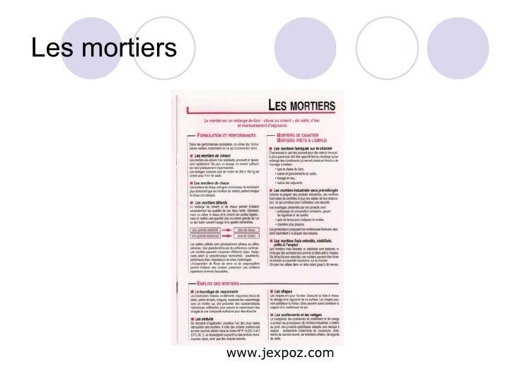 Les mortiers www.jexpoz.com