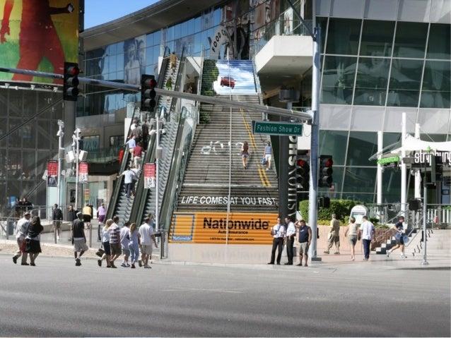 Les escaliers urbains au coeur de l'affichage publicitaire