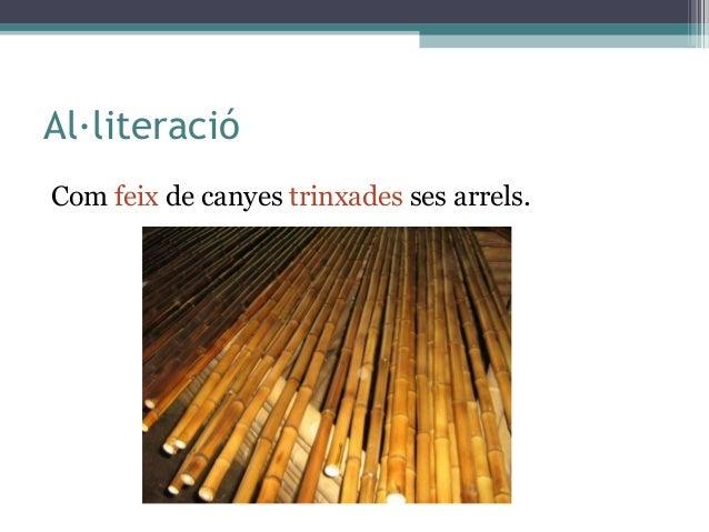 Les figures retòriques de la poesia Slide 3