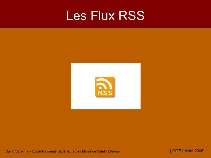 Les Flux RSS