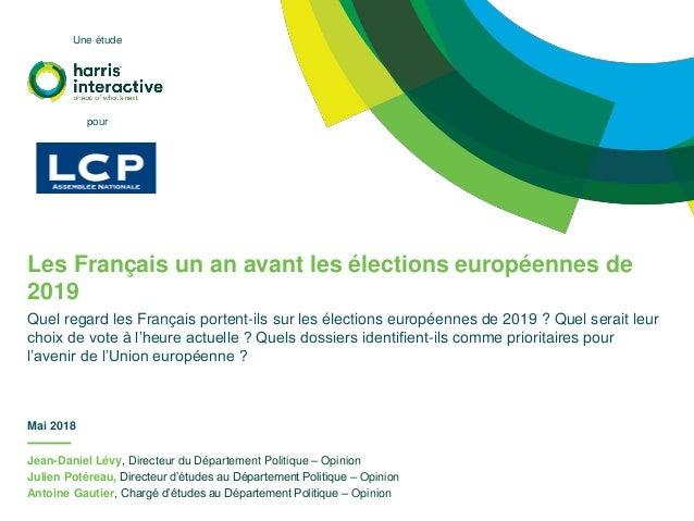 Jean-Daniel Lévy, Directeur du Département Politique – Opinion Julien Potéreau, Directeur d'études au Département Politiqu...