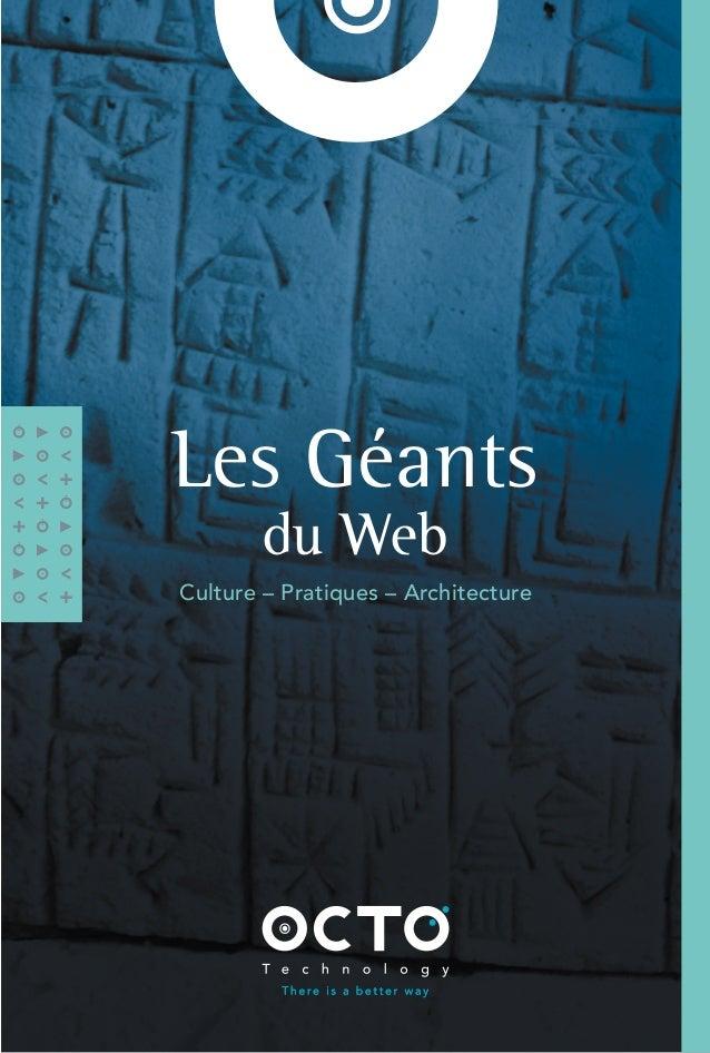 Les Géantsdu WebCulture – Pratiques – Architecture