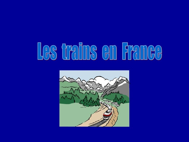 Les  trains  en  France