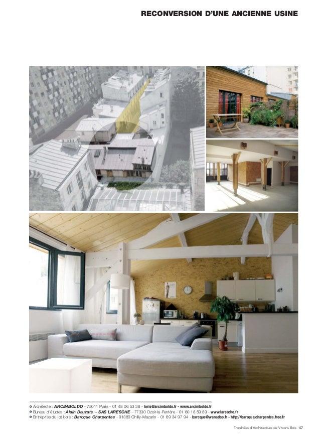 les trophees de l architecture vivons bois 2011. Black Bedroom Furniture Sets. Home Design Ideas