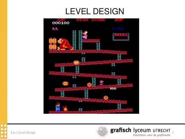 Les 1 Level Design 1LEVEL DESIGN