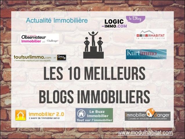 LES 10 meilleurs www.modulhabitat.com blogs immobiliers