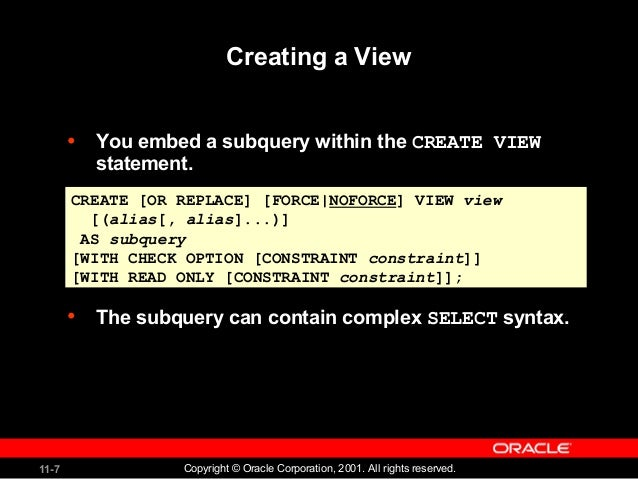 Oracle subselect not in