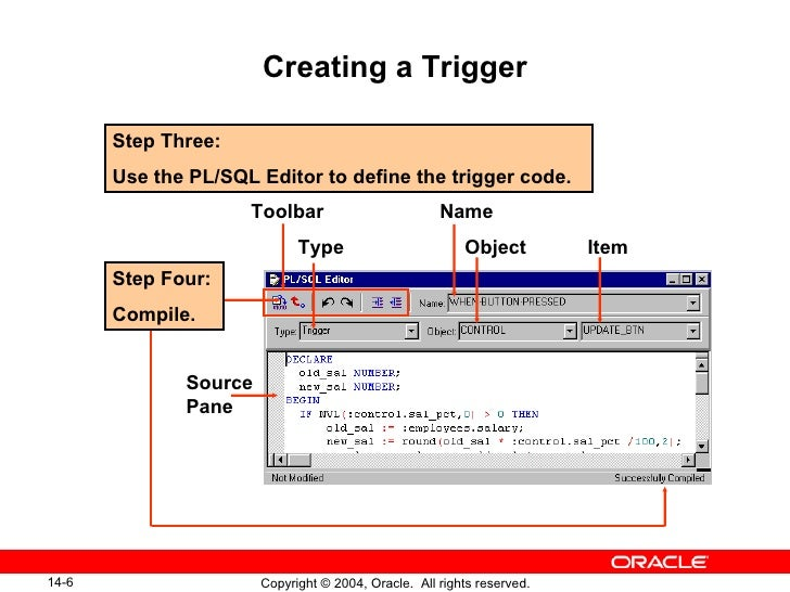 how to create trigger in sql