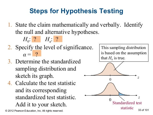 How to write a null hypothesis mathematically