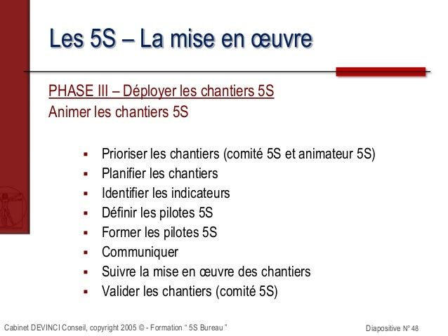 formation 5s ppt