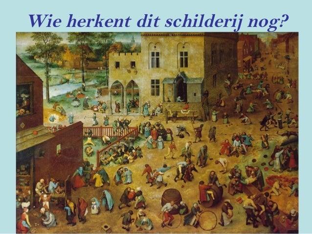 Wie herkent dit schilderij nog?