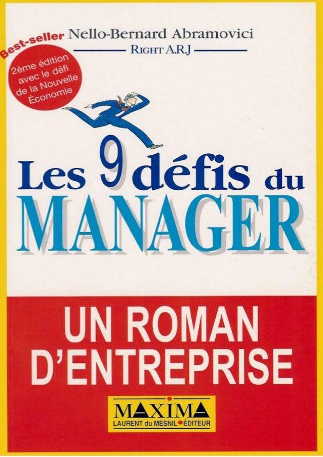Nello-Bernard Abramovici RIGHT A.R.J 2e édition avec le défi de la Nouvelle Économie