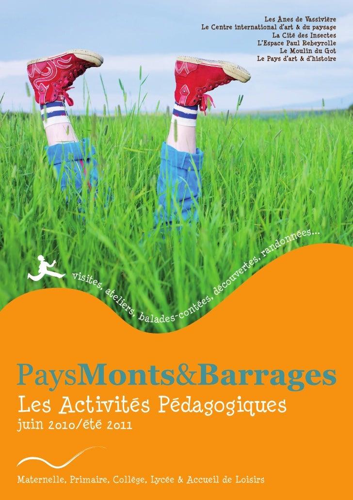 Les Ânes de Vassivière                                                         Le Centre international d'art & du paysage ...