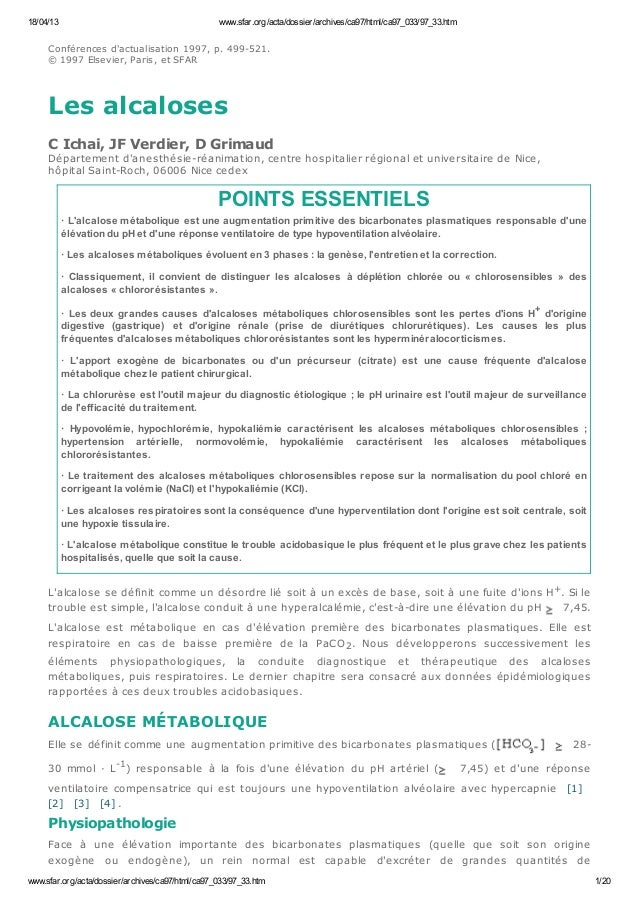 18/04/13  www.sfar.org/acta/dossier/archives/ca97/html/ca97_033/97_33.htm  C onfé re nce s d'actualisation 1997, p. 499-52...