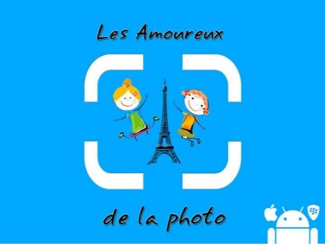 • L'application qui permetde trouver les meilleursendroits pour faire desphotos dans Paris !