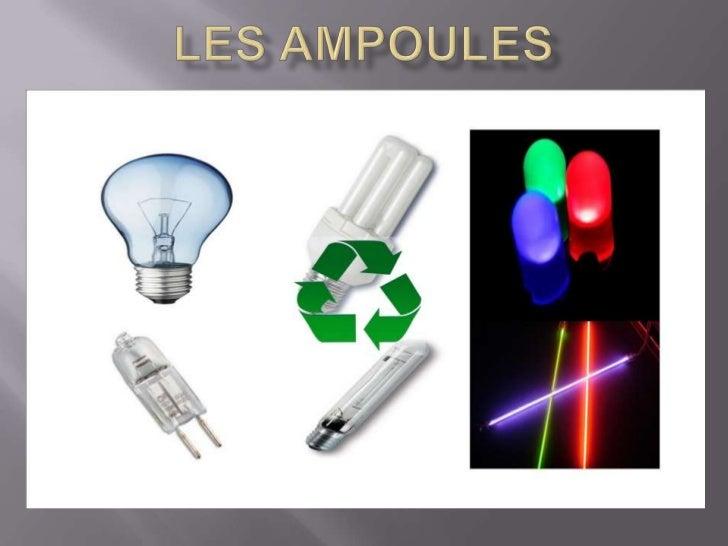 Les Ampoules<br />