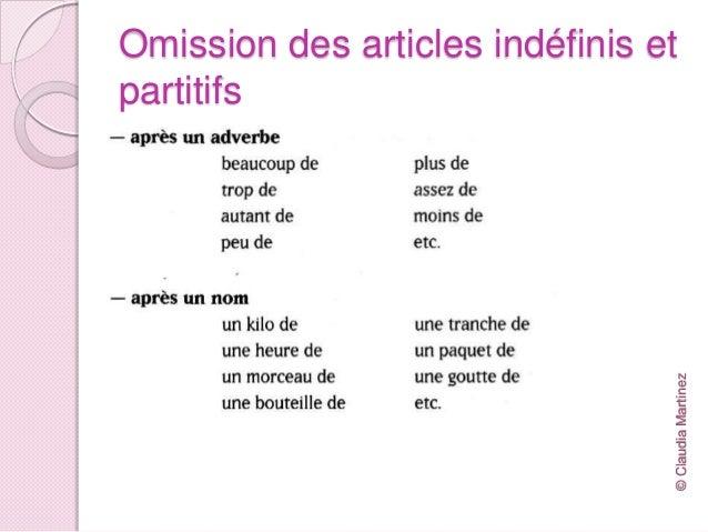 Opuszczanie rodzajnika - gramatyka 4 - Francuski przy kawie