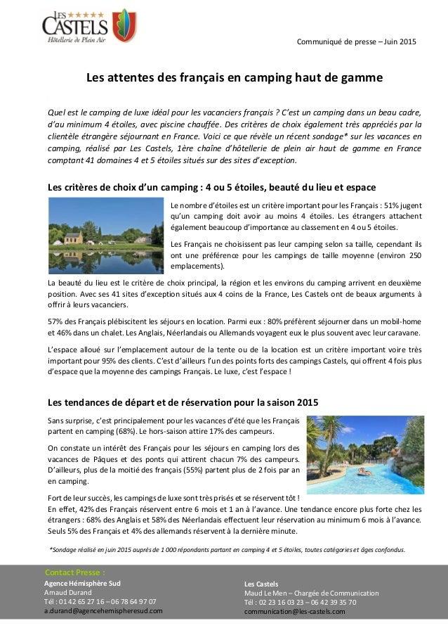 Communiqué de presse – Juin 2015 Les Castels Maud Le Men – Chargée de Communication Tél : 02 23 16 03 23 – 06 42 39 35 70 ...