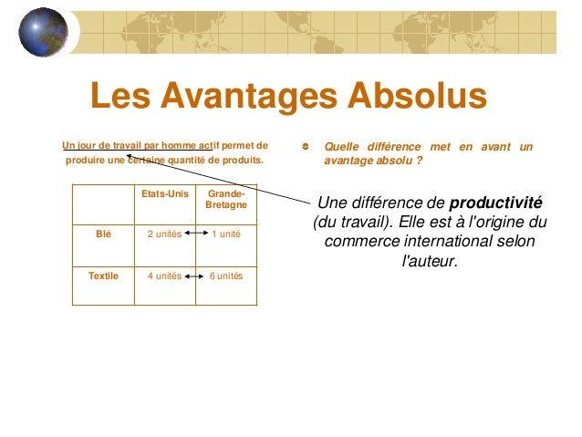 LES AVANTAGES ABSOLUS PDF