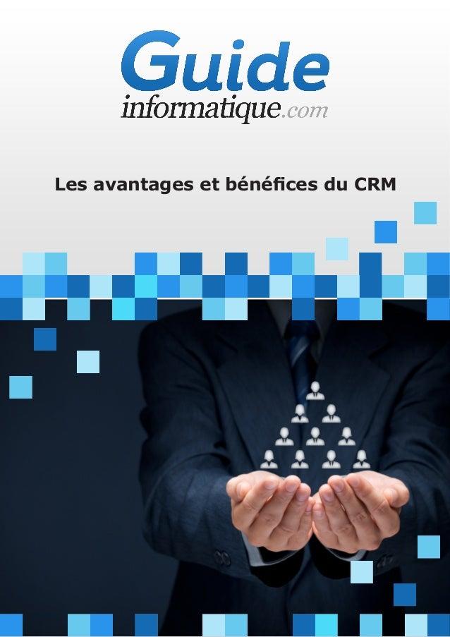 Les avantages et bénéfices du CRM
