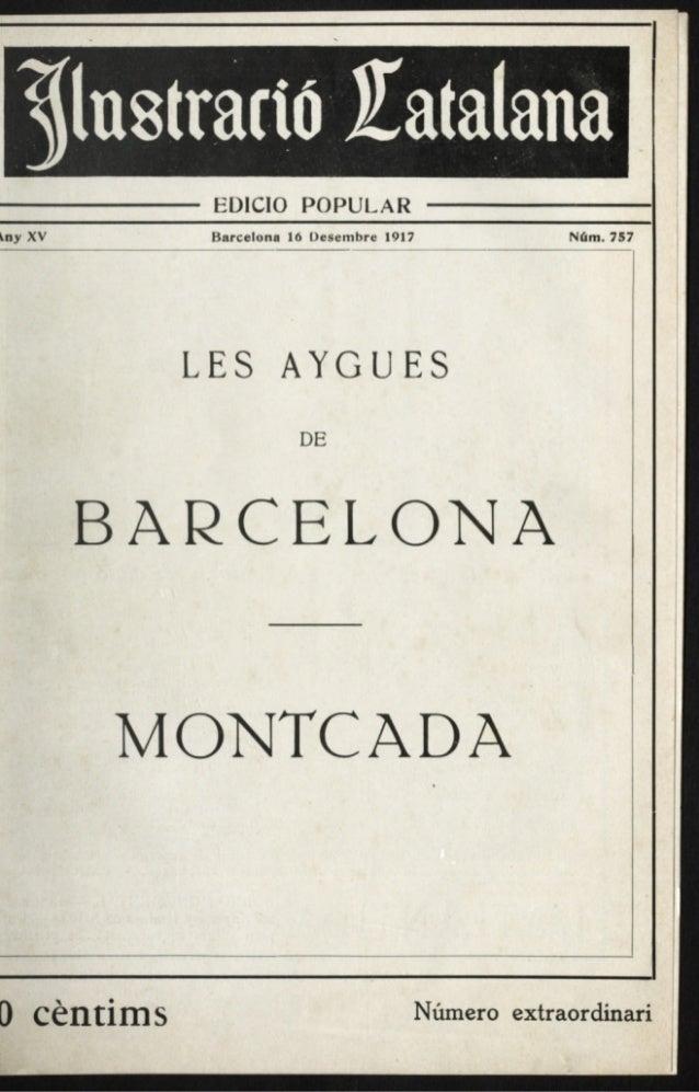 Les aygues de Barcelona - Montcada