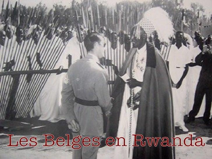 Les Belges en Rwanda