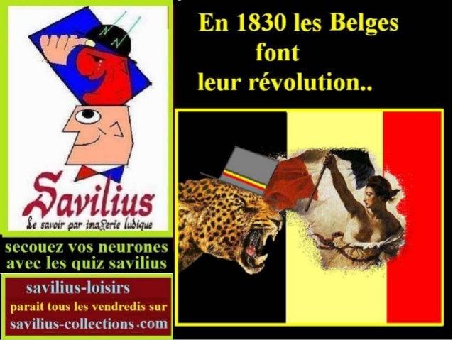 Les Belges font leur révolution