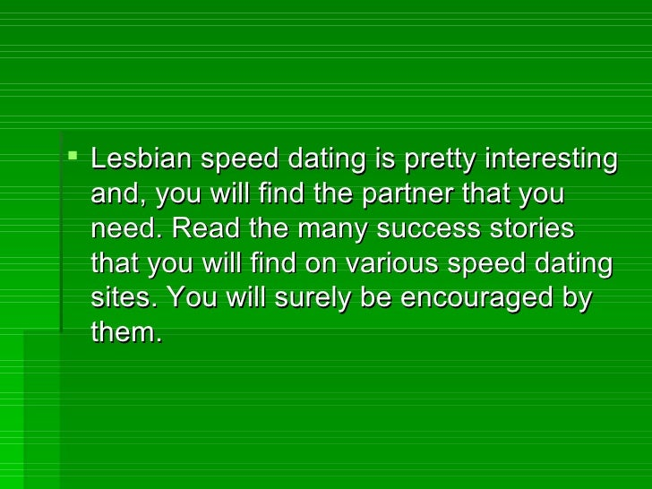 Online dating terms