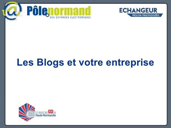 Les Blogs et votre entreprise z