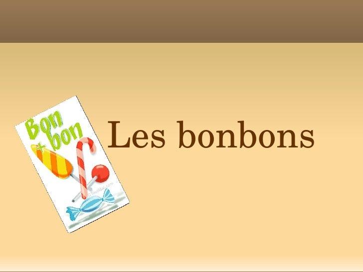 Lesbonbons