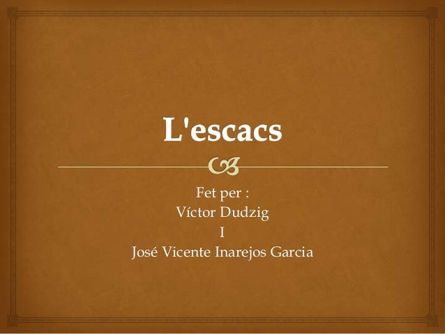 Fet per :Víctor DudzigIJosé Vicente Inarejos Garcia