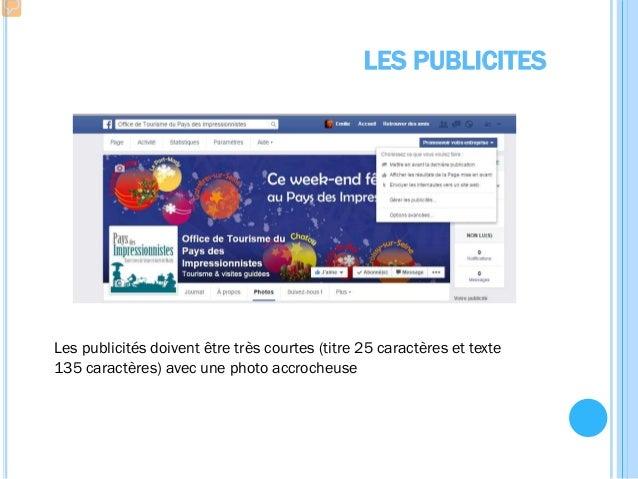 Les cahiers de l'ant Créer et/ou animer votre page Facebook